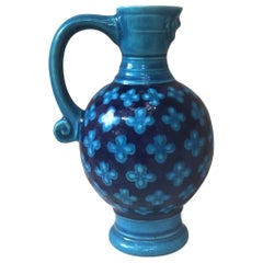 19th Century Majolica Pitcher