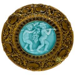 19th Century Majolica Plate