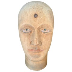 19th Century Mannekin Head