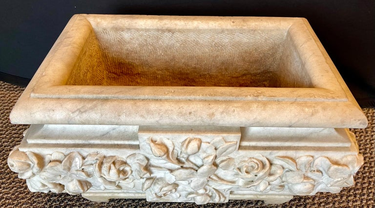 19th Century Marble Planter or Jardinière For Sale 2