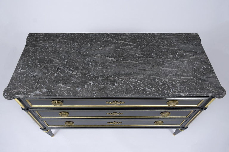 19th Century Marble Top Secretaire For Sale 1