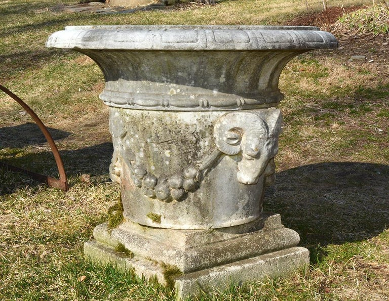 19th Century Marble Urn For Sale 1