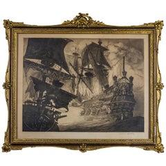 19th Century Marine Artwork