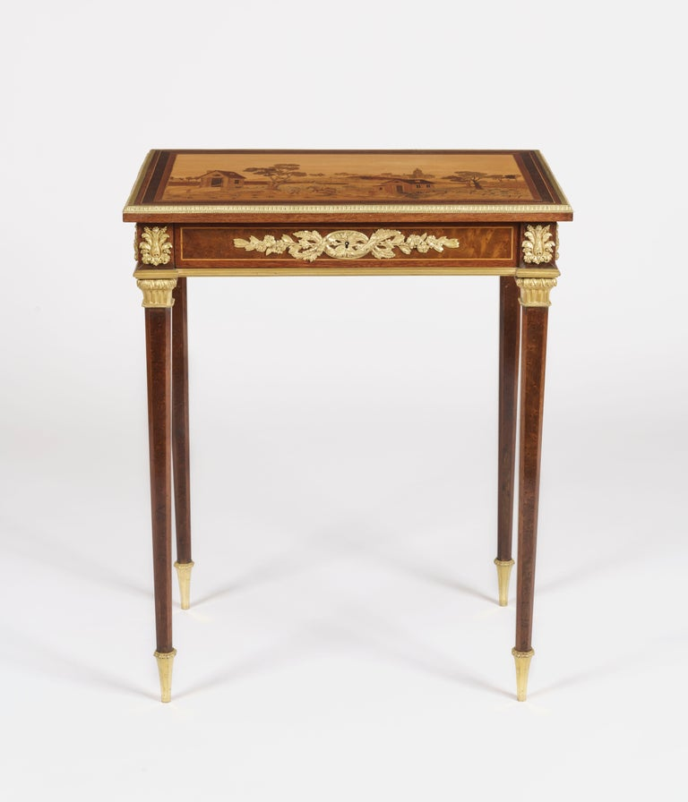 A fine quality side table.