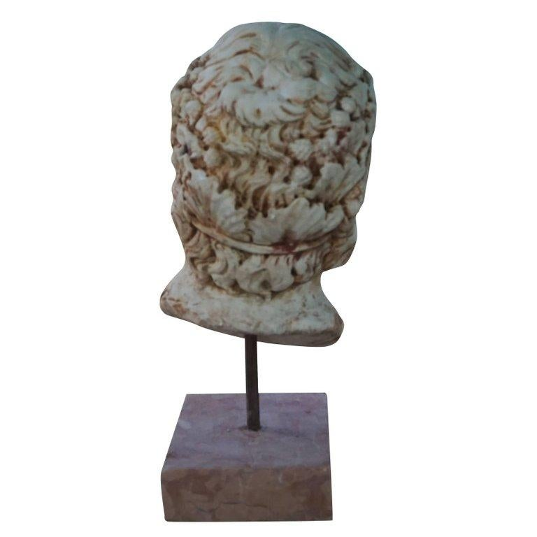 Hand-Carved 19th Century Maschera Asklepios For Sale