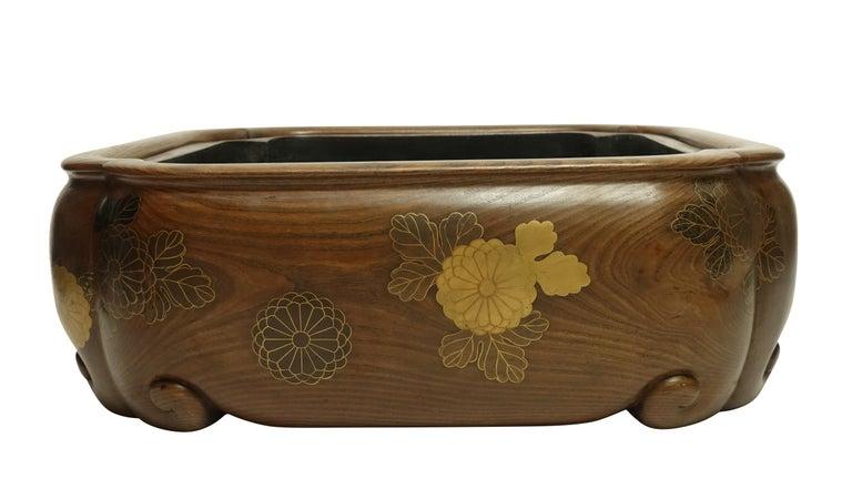 19th Century Meiji Japanese Hibachi For Sale 1