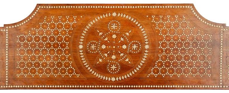 Italian 19th Century Milanese Moorish Bench For Sale