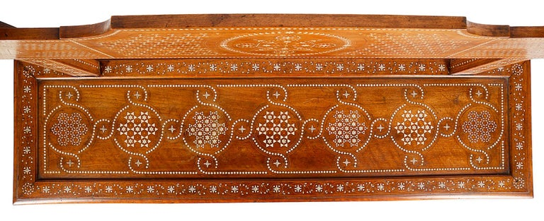 19th Century Milanese Moorish Bench In Excellent Condition For Sale In Brighton, Sussex