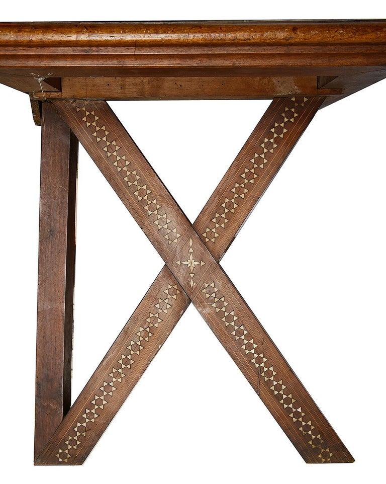 19th Century Milanese Moorish Bench For Sale 2