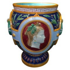 19th Century Minton Neoclassical Vase