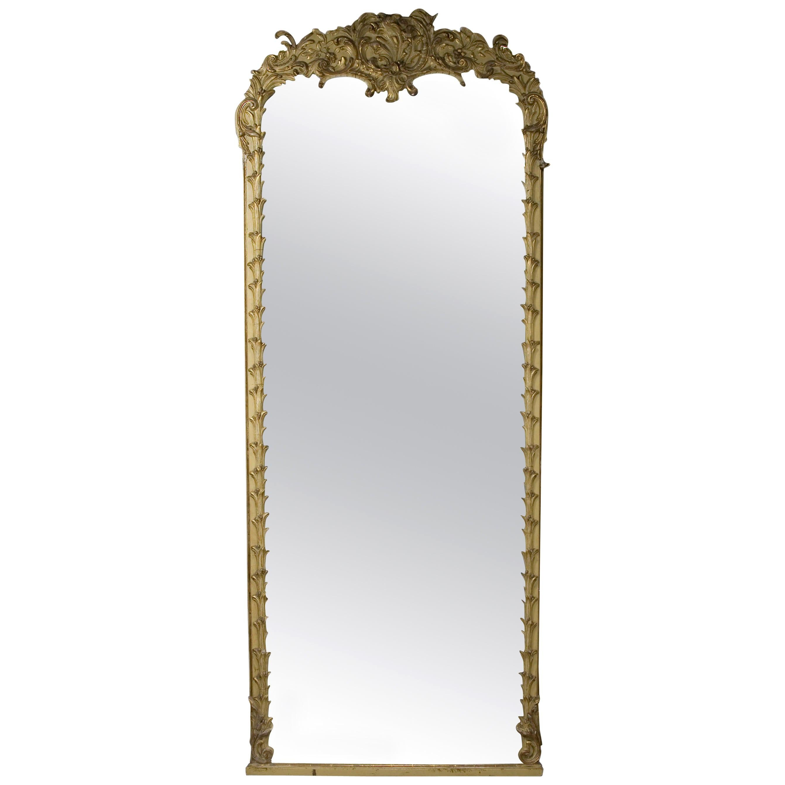 19th Century Monumental Baroque Style Mirror