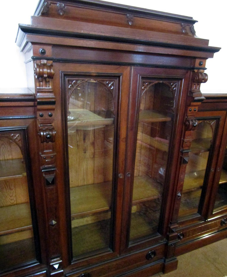 Century Furniture For Sale: 19th Century Monumental Herter Brothers Bookcase Pair For