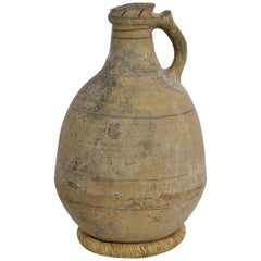19th Century Moroccan Earthenware Jug