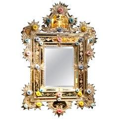 Blown Glass Mirrors