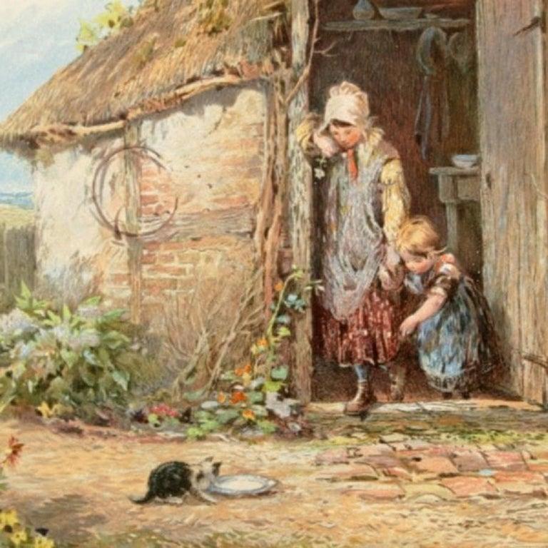 European 19th Century Myles Birket Foster Print For Sale