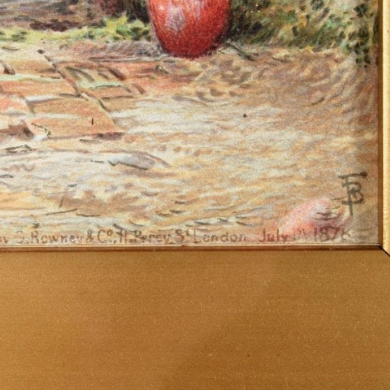 19th Century Myles Birket Foster Print In Good Condition For Sale In London, GB