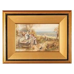 19th Century Myles Birket Foster Print