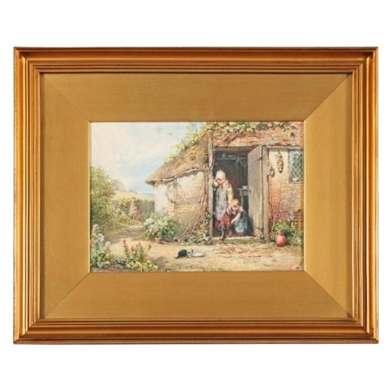 19th Century Myles Birket Foster Print For Sale