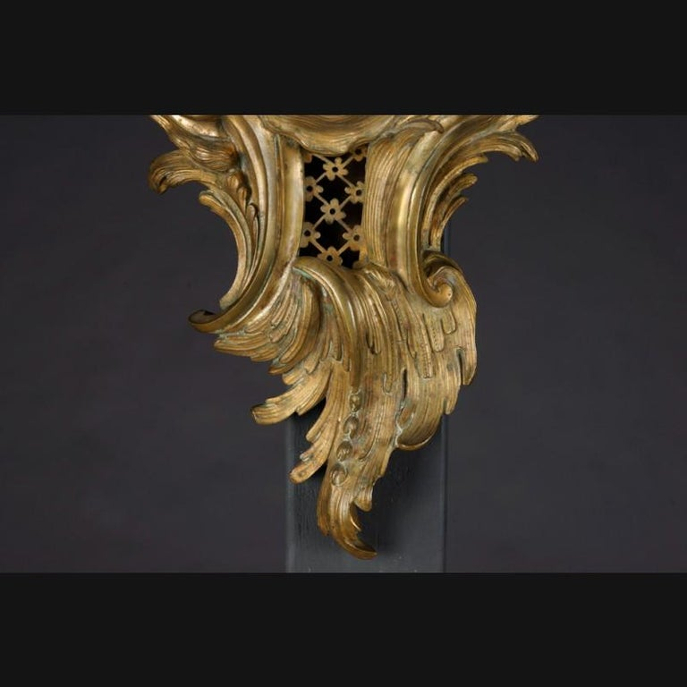 19th Century Napoleon III Bronze French Cartel Clock For Sale 3
