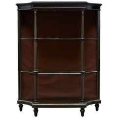 19th Century Napoleon III Ebonized Bookshelf Étagère