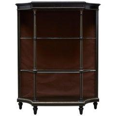 19th Century Napoleon III Ebonized Bookshelf Étagère