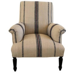 19th Century Napoleon III Fauteuil Armchair from France