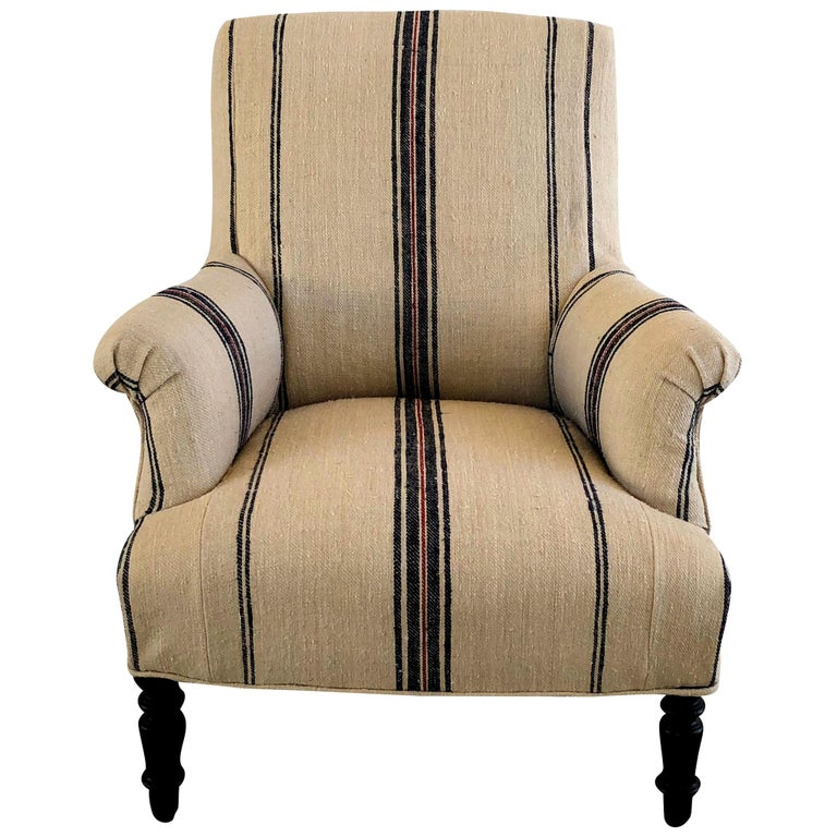 19th Century Napoleon III Fauteuil, French Armchair For Sale