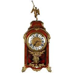 19th Century Napoleon III Fireplace Boulle Clock Pendule