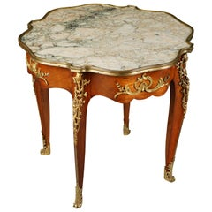 19th Century Napoleon III in the Louis Quinze Style Side Table