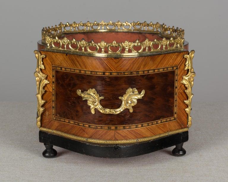 Cast 19th Century Napoleon III Jardinière or Planter For Sale
