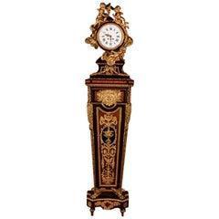 19th Century Napoleon III Pendulum Clock Regulateur De Parquet