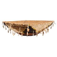 19th Century Native Pomo Hanging Gift Basket