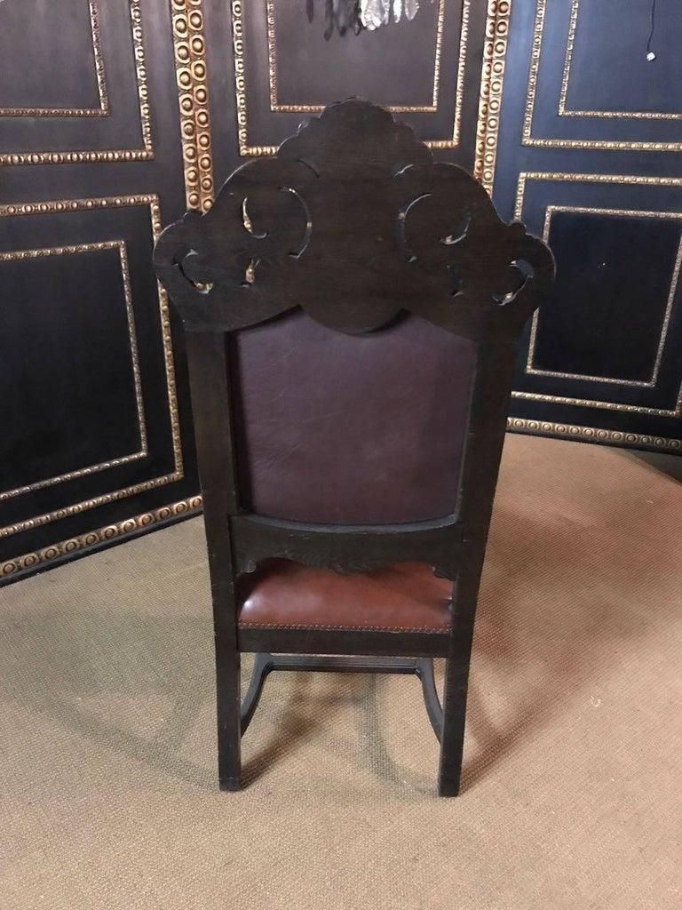19th Century, Neo Renaissance Armchair For Sale 1