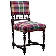 19th Century Neo-Renaissance Oak Armchair