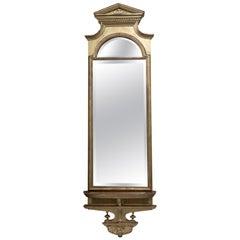 19th Century Neoclassical Gilded Pier Mirror