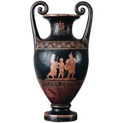 Gro e russische neoklassische urne oder vase aus malachit for Mobel 19 jahrhundert