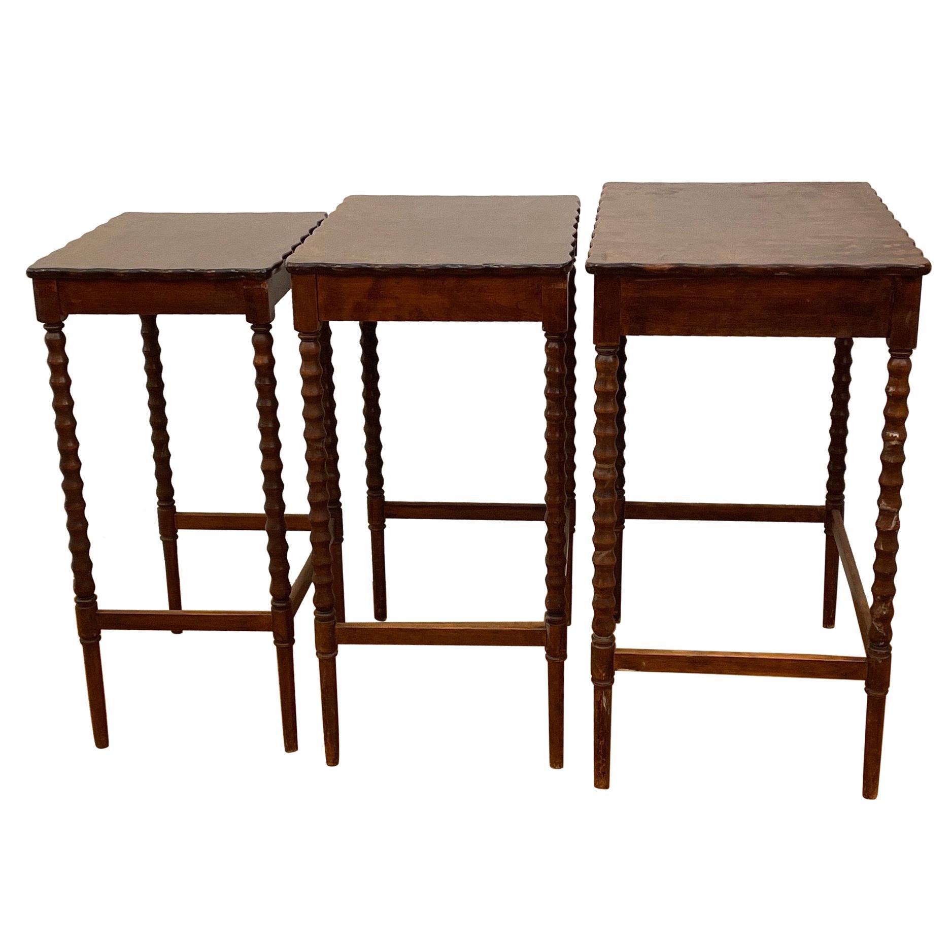 19th Century Nesting Tables