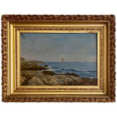 19th Century New England Seascape