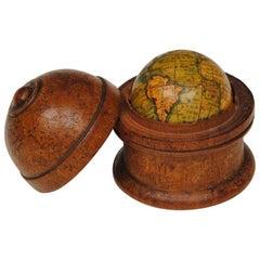 19th Century Newton and Sons Pocket Globe