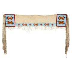 19th Century Nez Perce Beaded Saddle Drape