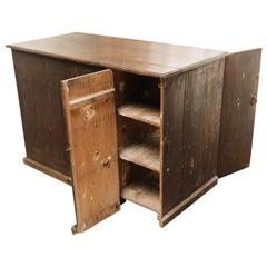 19th Century North Italian Pine Desk