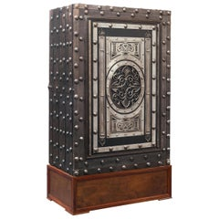 19th Century Northern Italian Hobnail Safe