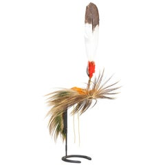 19th Century Northern Plains Deer Tail Roach