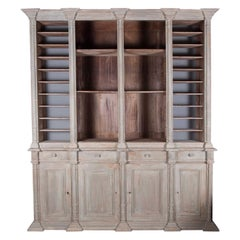 19th Century Notaires Bookcase