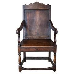 19th Century Oak Armchair