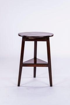 19th Century Oak Cricket Table
