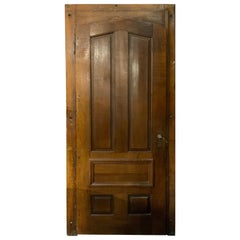 19th Century Oak Door with Frame from France