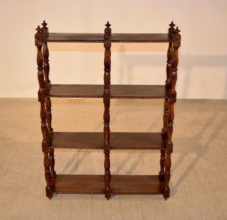 Napoleon III 19th Century Oak Shelf from France For Sale