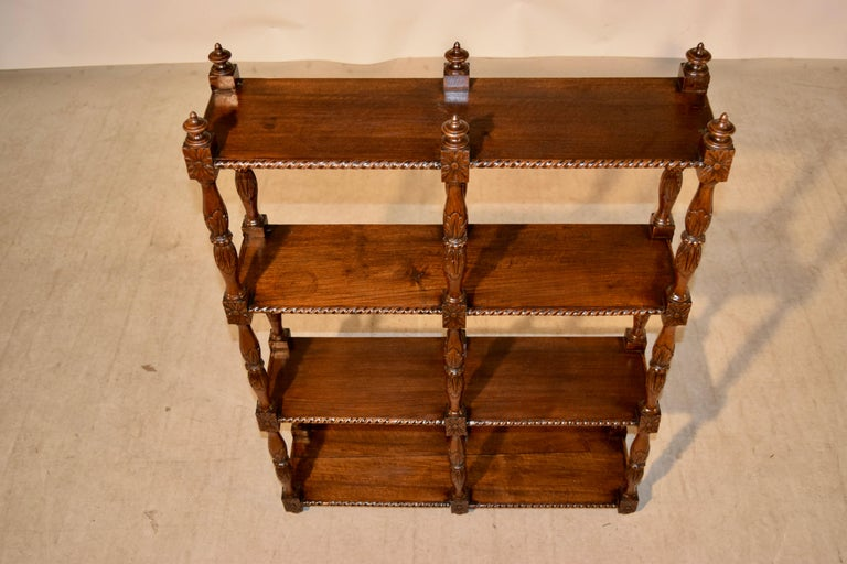 French 19th Century Oak Shelf from France For Sale