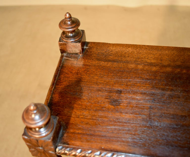 19th Century Oak Shelf from France In Good Condition For Sale In High Point, NC